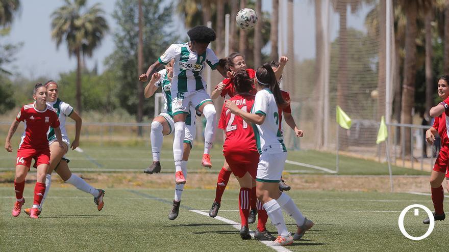 Lance del duelo entre el Córdoba Femenino y el Aldaia