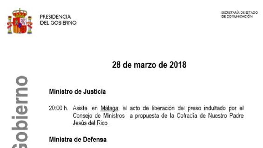 Agenda Gobierno