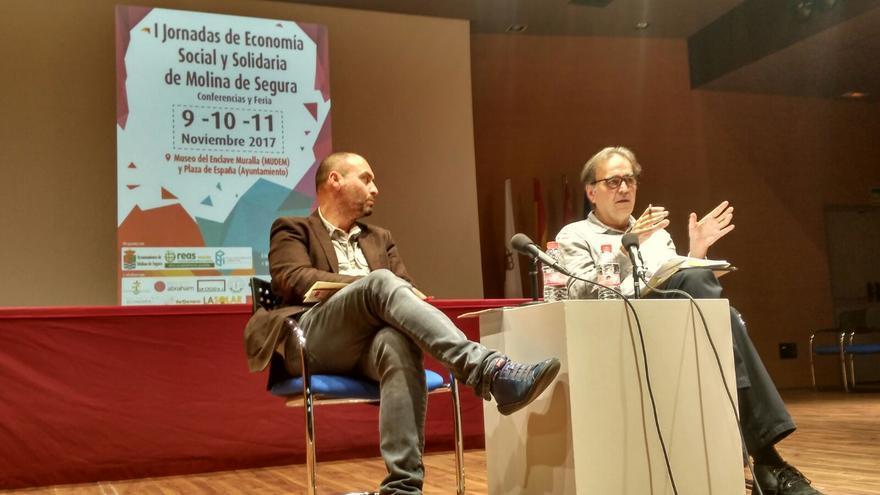 Joan Subirats en las I Jornadas de Economía Social y Solidaria de Molina de Segura