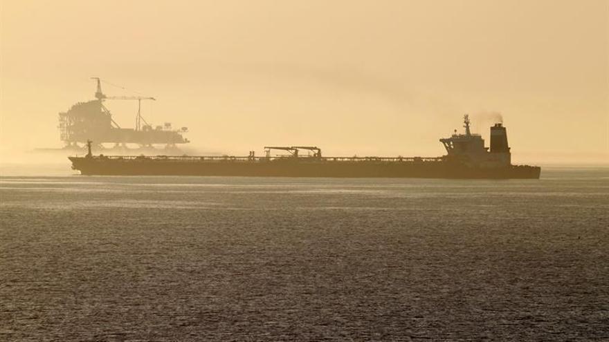 Imagen del buque superpetrolero Adrian Darya 1.