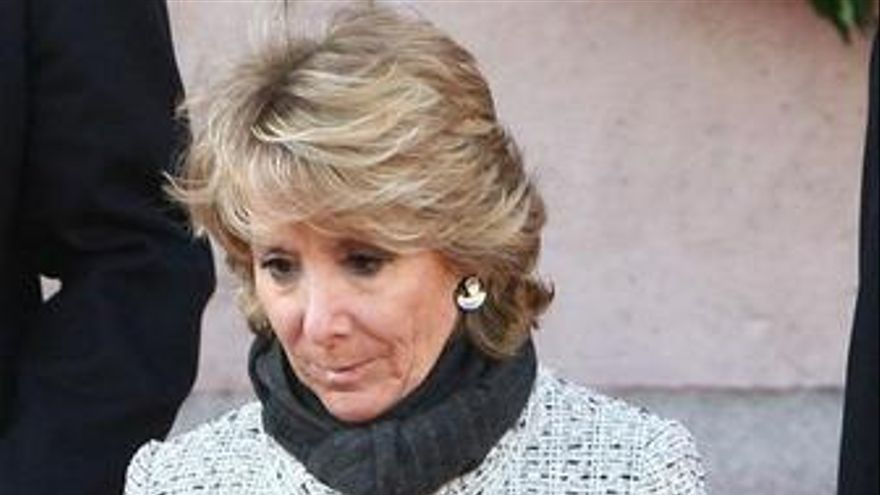 Presidenta De La Comunidad, Esperanza Aguirre