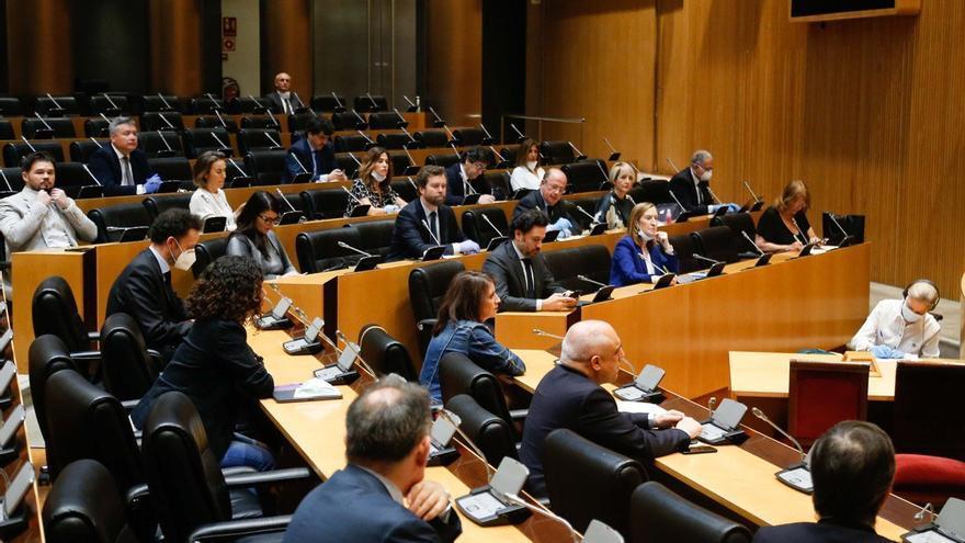 Imagen de la sesión constitutiva de la Comisión para la Reconstrucción Social y Económica en el Congreso de los Diputados el pasado 7 de mayo
