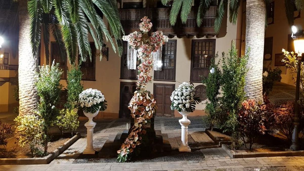 Imagen de archivo de la Cruz del Tercero, en Santa Cruz de La Palma.