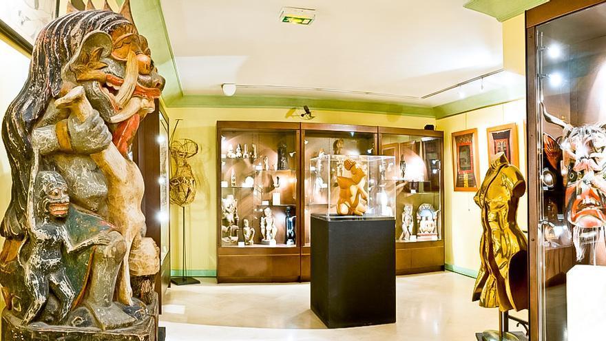 Sala del Museo Erótico de París.
