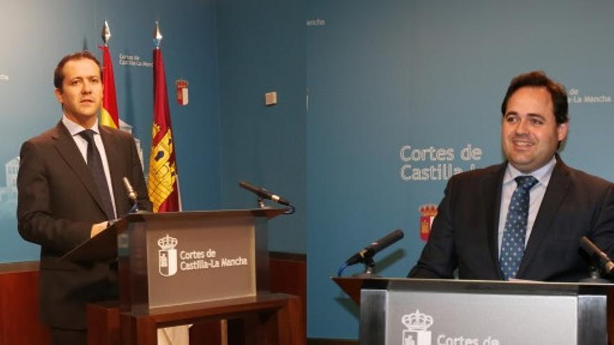 Carlos Velázquez y Francisco Núñez, candidatos a suceder a María Dolores Cospedal
