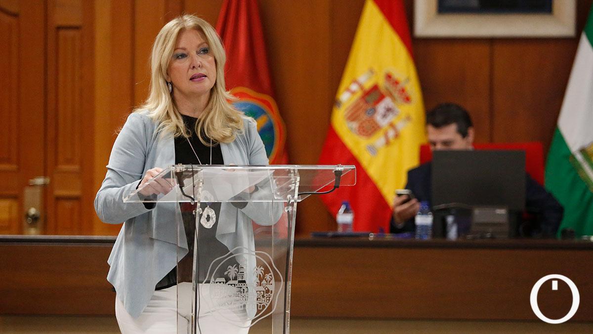 Cristina Pedrajas, portavoz de Podemos en el Ayuntamiento de Córdoba