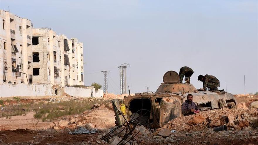 El Ejército controla el casco antiguo de Alepo tras  la retirada de los rebeldes