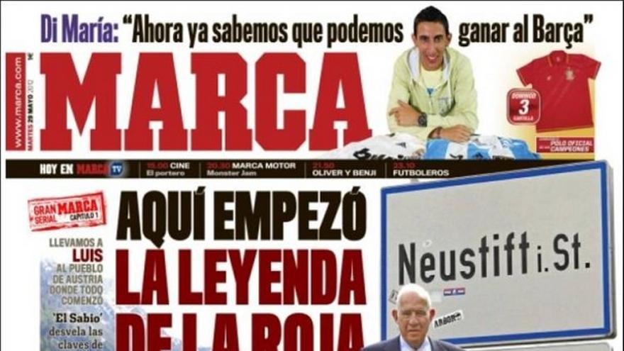 De las portadas del día (29/05/2012) #12