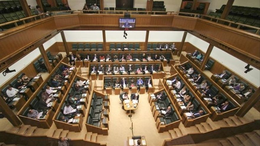 Parlamento Vasco pleno