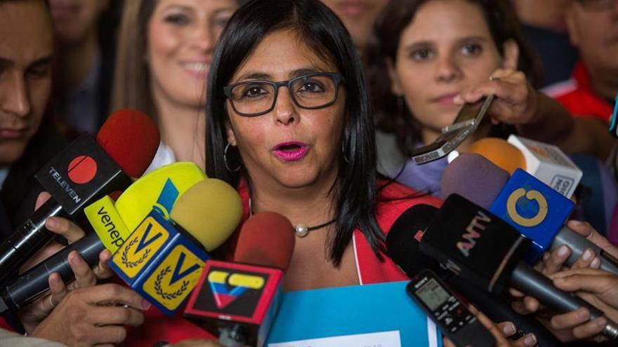 Maduro nombra a la presidenta de la Constituyente como nueva vicepresidenta del país