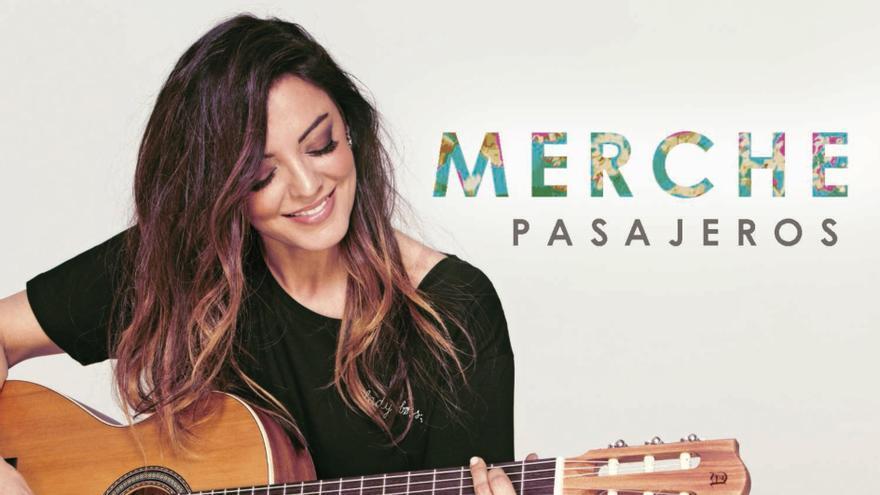 Cartel del concierto de Merche en San Andrés y Sauces.