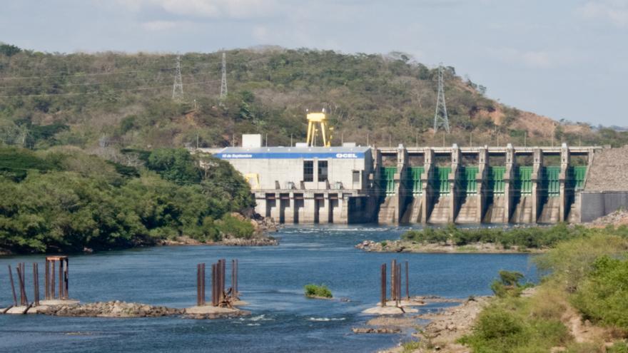 Presa 'El Chaparral' en El Salvador