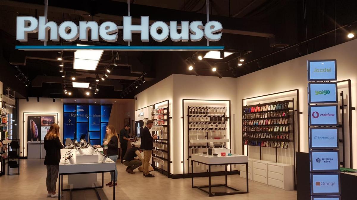 Una tienda de Phone House