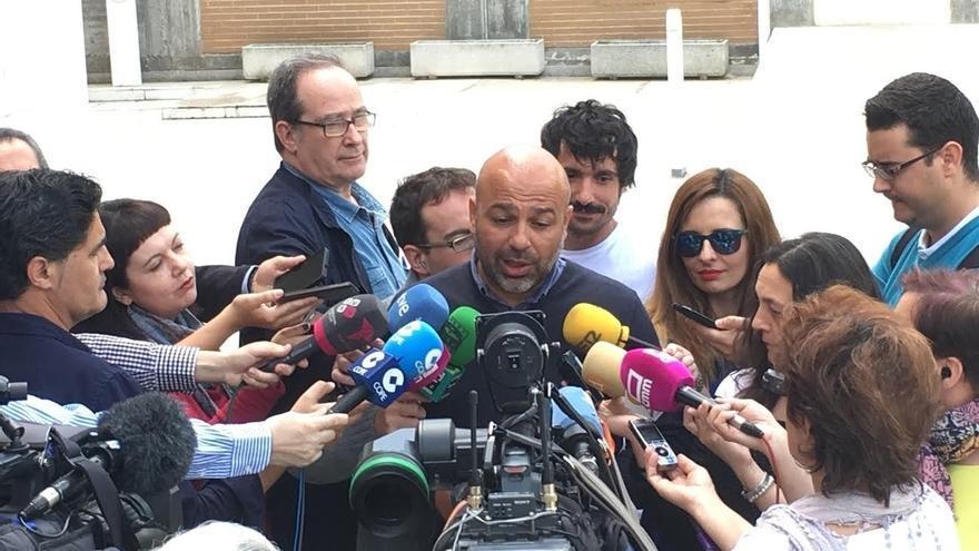 Molina (Podemos C-LM) confía en que la reunión de Sánchez e Iglesias sirva para impedir que el PP gobierne en España