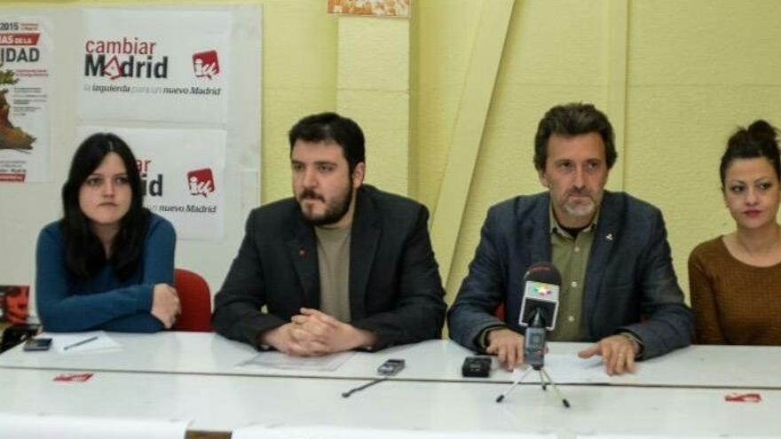 Valiente consuma la ruptura con la dirección de IUCM y convoca su propio referéndum sobre Ahora Madrid