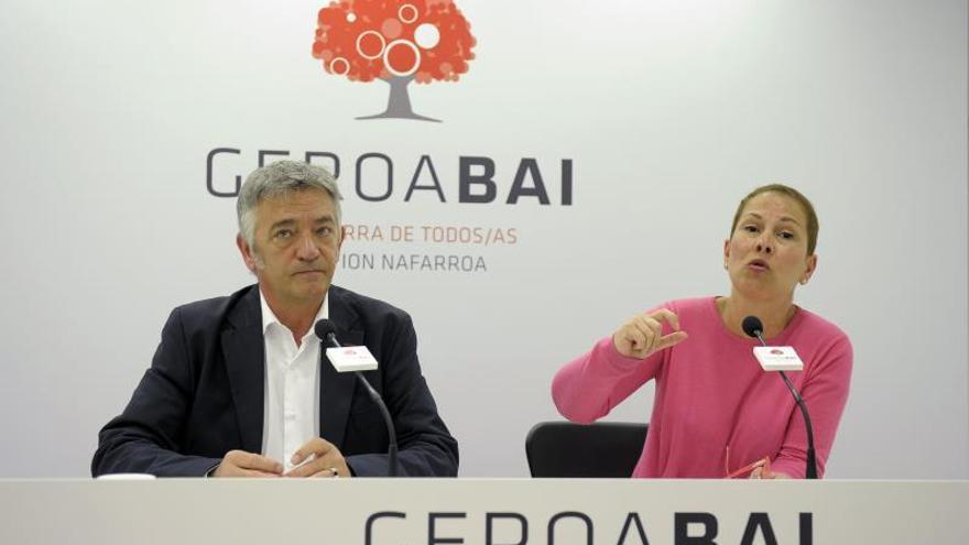 """Geroa Bai ve """"honradez política y coherencia"""" en candidaturas cuatripartito"""
