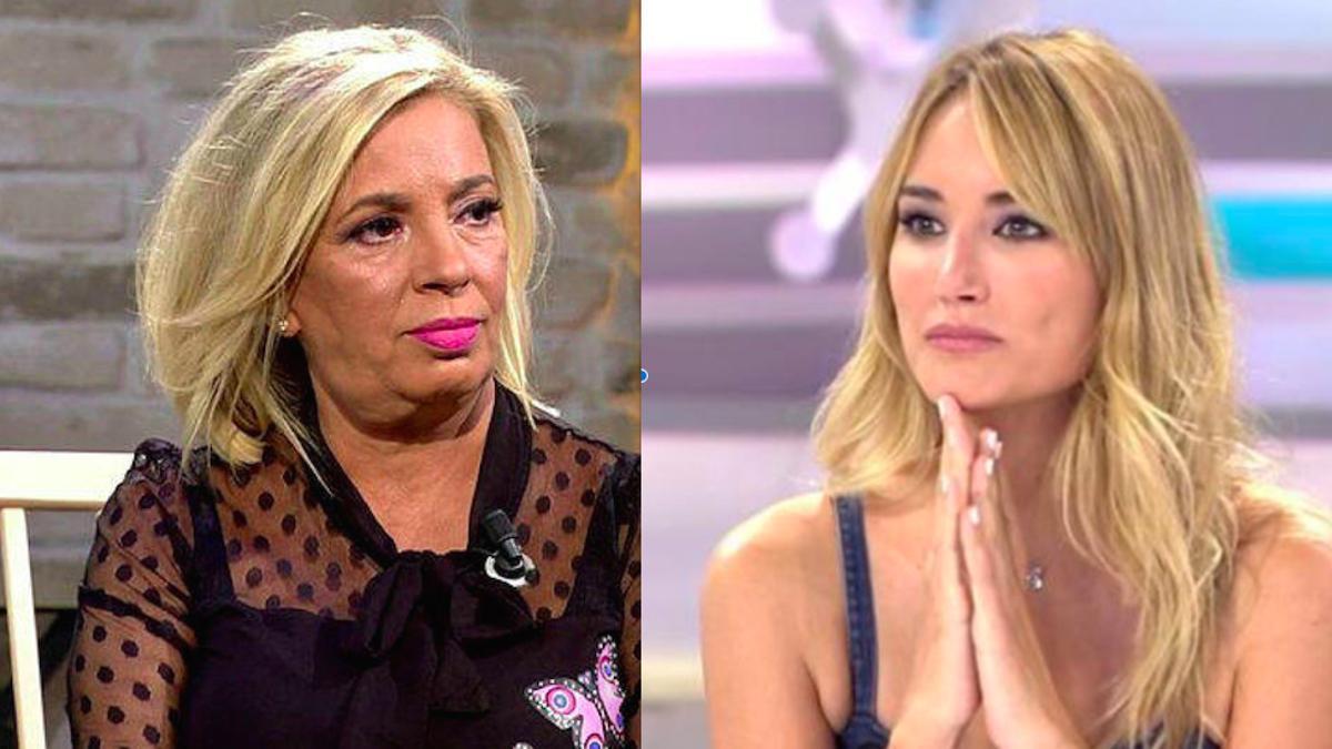 Carmen Borrego y Alba Carrillo