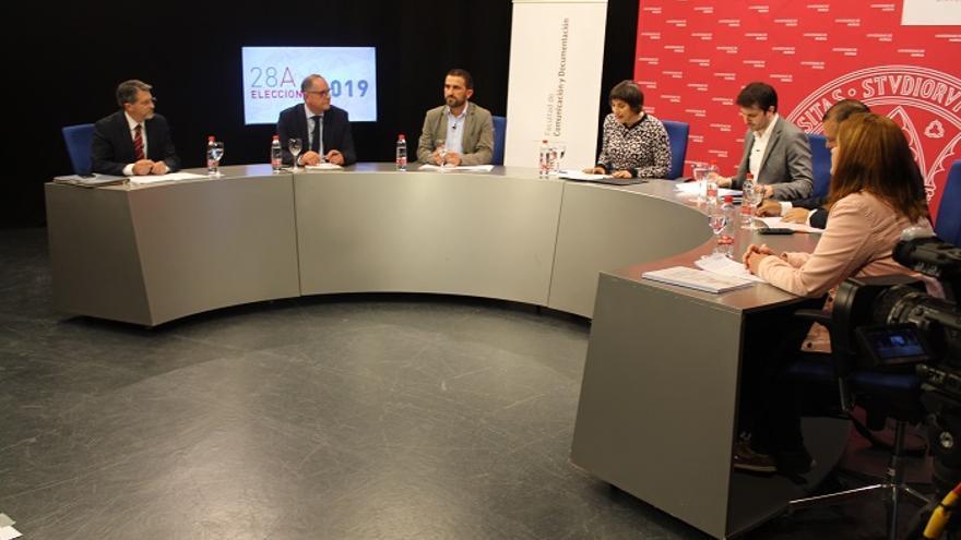 Durante el debate