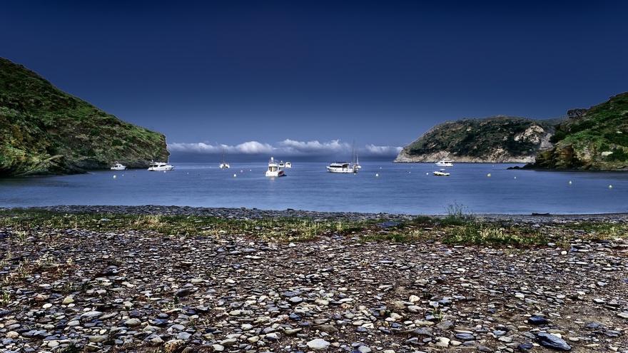Cala Juncols, una de las playas de Cap Creus. Toni Carvajal (CC)