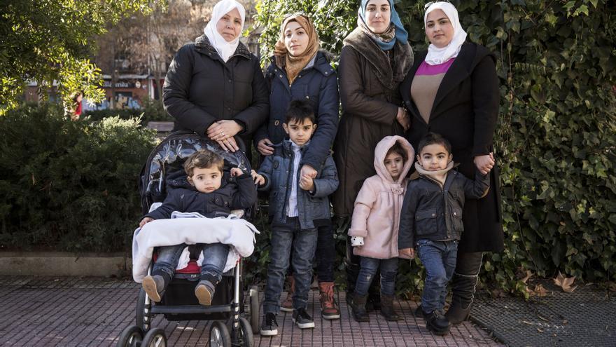 Wafa y su familia se enfrentan a un desahucio en Alcobendas, Madrid, sin alternativa habitacional / Olmo Calvo.