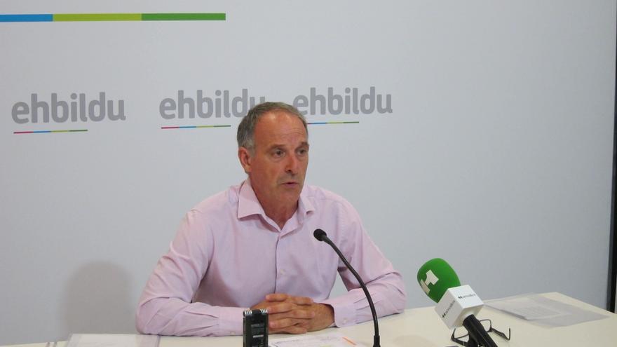 """EH Bildu cree que la """"maniobra"""" e """"imposición"""" de Fomento sobre el TAV """"obedece a las presiones realizadas por UPN"""""""