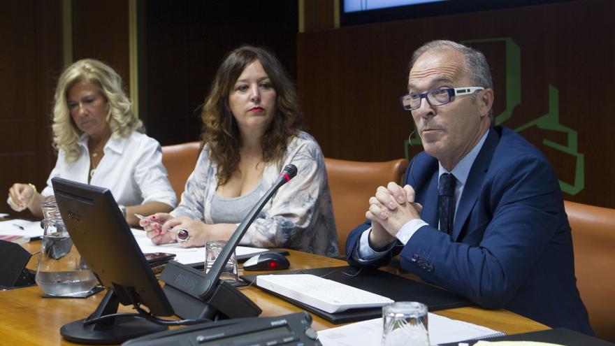 Ignacio Alday, este lunes en el Parlamento Vasco