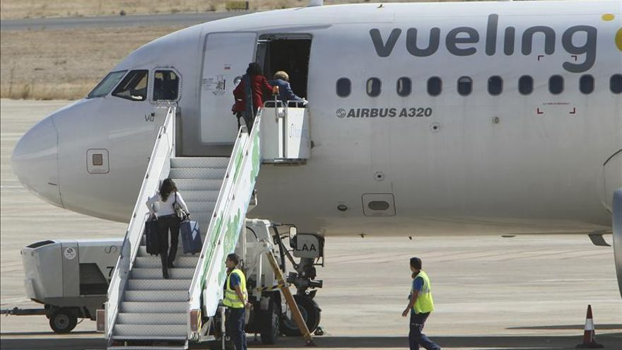 Vueling pierde 19,7 millones de euros hasta marzo, un 19,8 por ciento más