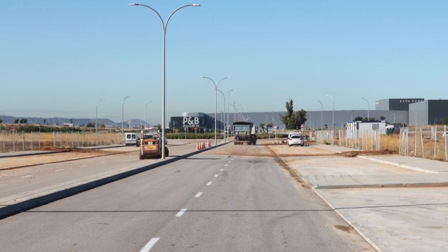 Plataforma logística en Cabanillas del Campo