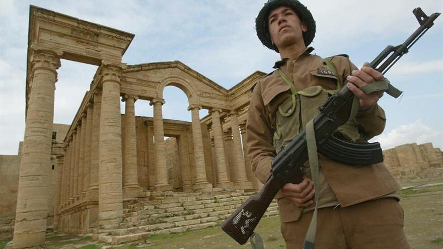 Fuerzas iraquíes liberan del EI la histórica ciudad de Hatra
