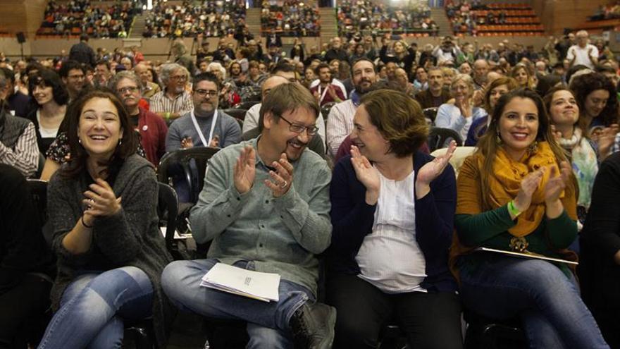 """Los 'comunes' asumen como reto nacional """"crear en Cataluña una República"""""""