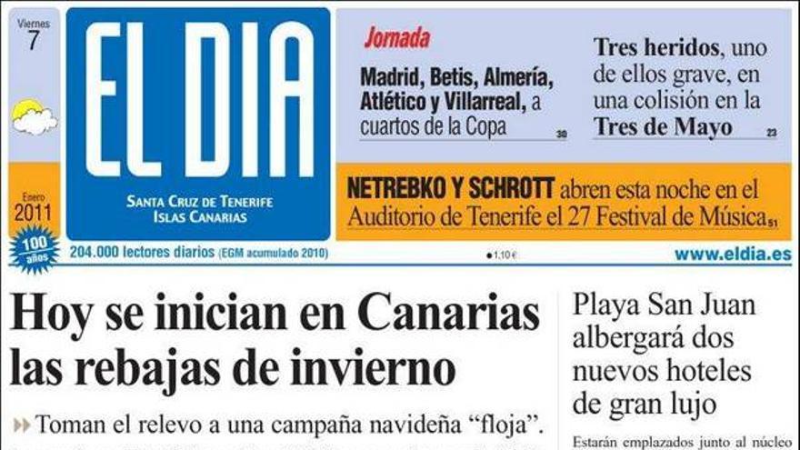 De las portadas del día (07/01/2011) #3
