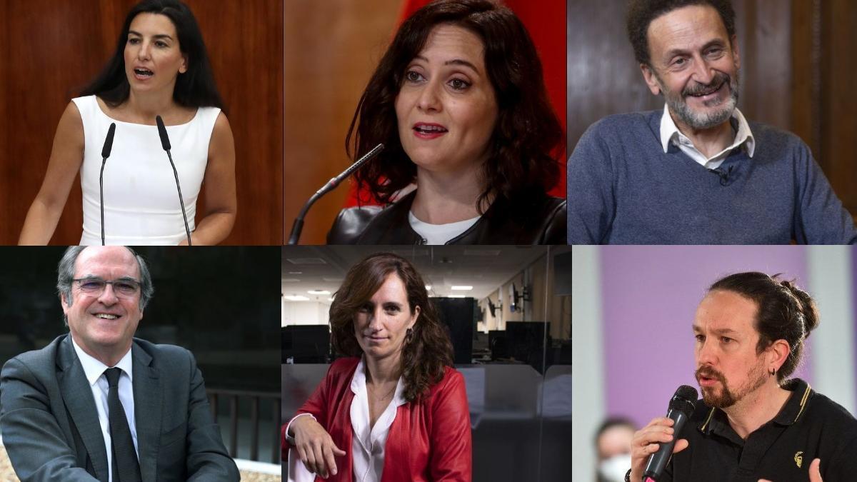 Este será el único debate en Madrid entre los candidatos a las elecciones de la comunidad