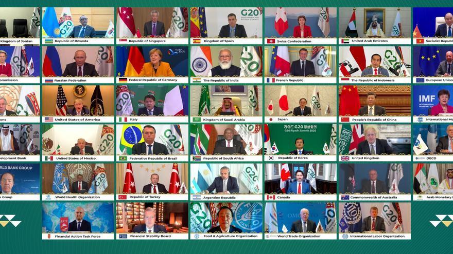 El G20 destaca la importancia del acceso universal a la vacuna anticovid