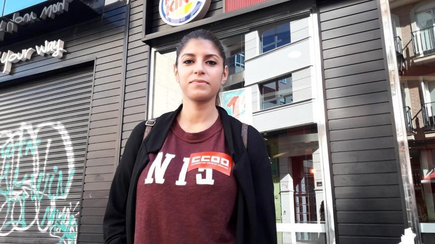 Sara Faddane denunció a la conocida cadena de hamburguesas