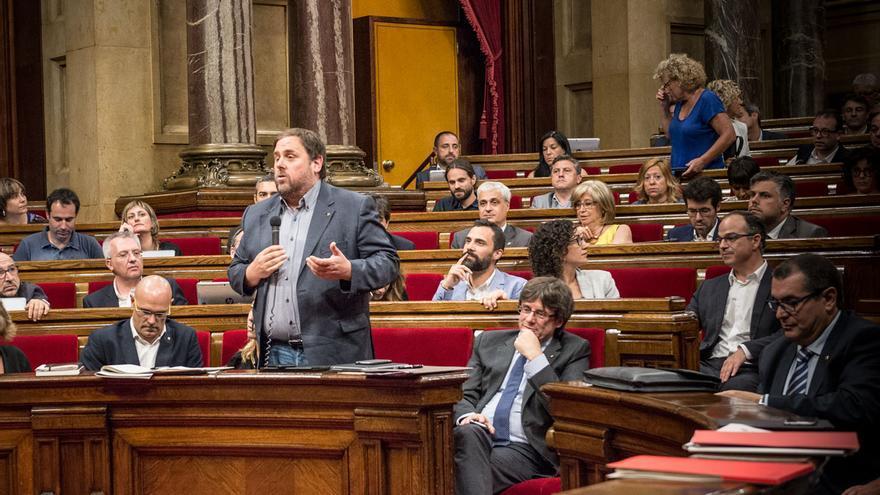 Junqueras al Parlament