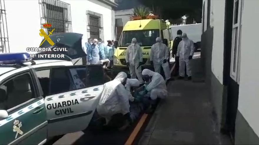Detención de un vecino de Buenavista por coronavirus