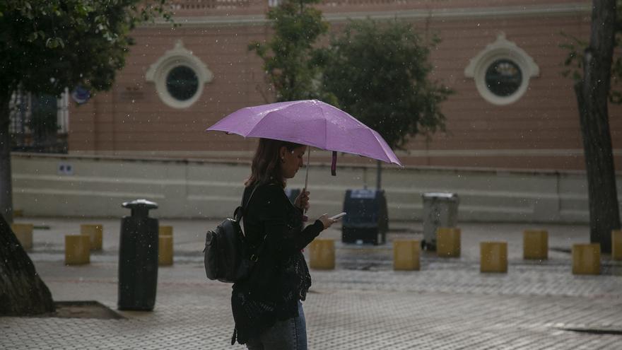 Registradas más de 300 incidencias por las lluvias durante la madrugada en Almería, Granada y Málaga