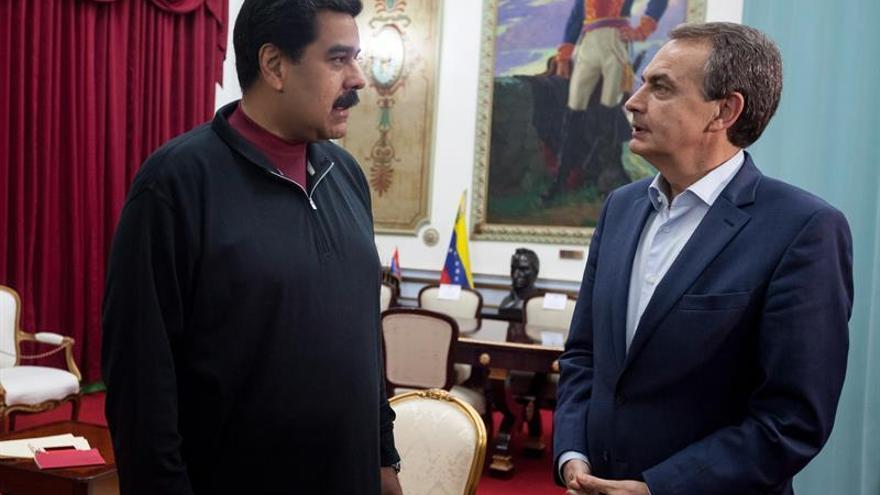 Zapatero se reúne con el presidente venezolano en gestiones por el diálogo político