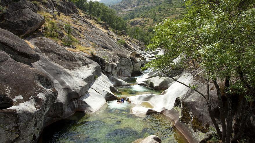 Los Pilones en la Garganta de los Infiernos, Valle del Jerte