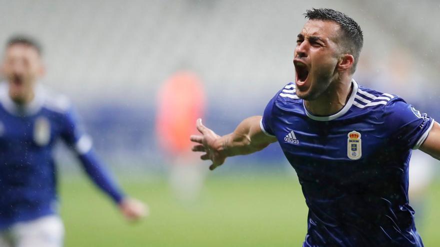 Joselu quiere aportar con sus goles a la permanencia del CD Tenerife