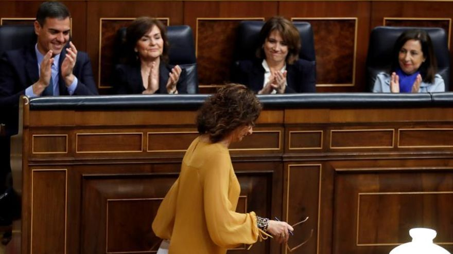 """Montero asegura que el Gobierno """"culminará"""" las leyes pendientes"""