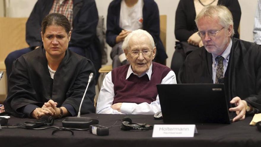 """El Supremo alemán confirma la condena al """"contable"""" de Auschwitz"""