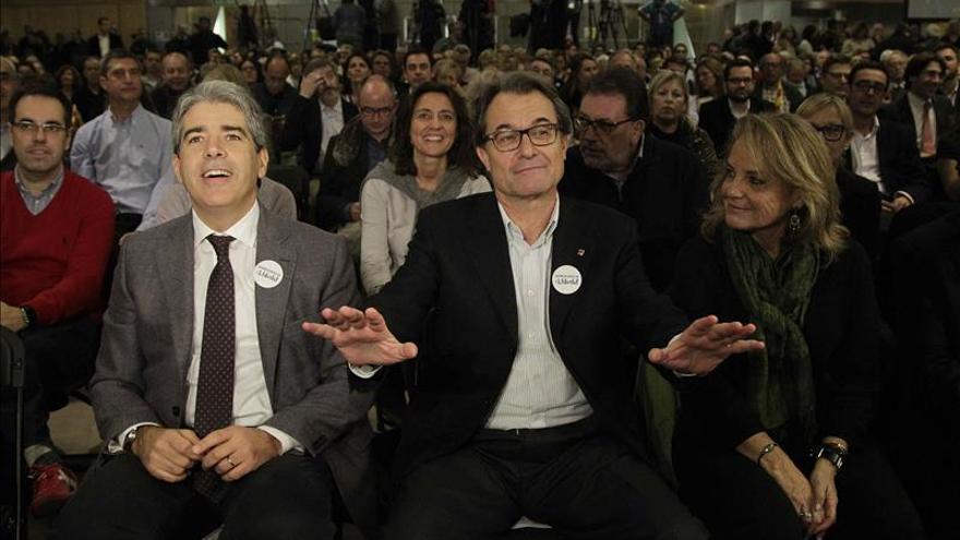 """Mas apela a llenar las urnas para """"cerrar"""" el paso a un Gobierno de Rajoy con C's"""