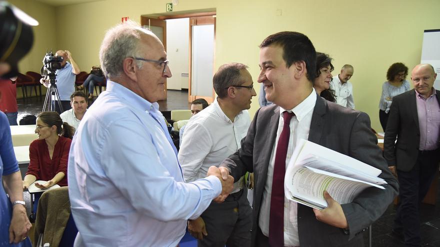 Francisco Martínez Arroyo con José María Fresneda