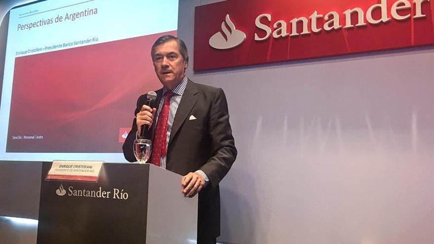 El presidente de la filial del Banco Santander es optimista sobre la economía argentina