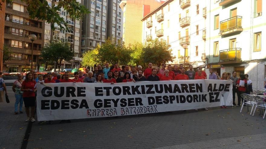"""La plantilla de Edesa Basauri convoca una manifestación este jueves en protesta por la """"grave situación"""" de la planta"""