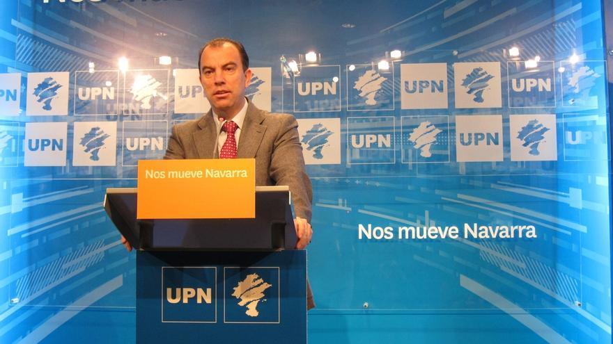 """García Adanero continúa """"en este momento"""" como portavoz de UPN en el Parlamento foral"""