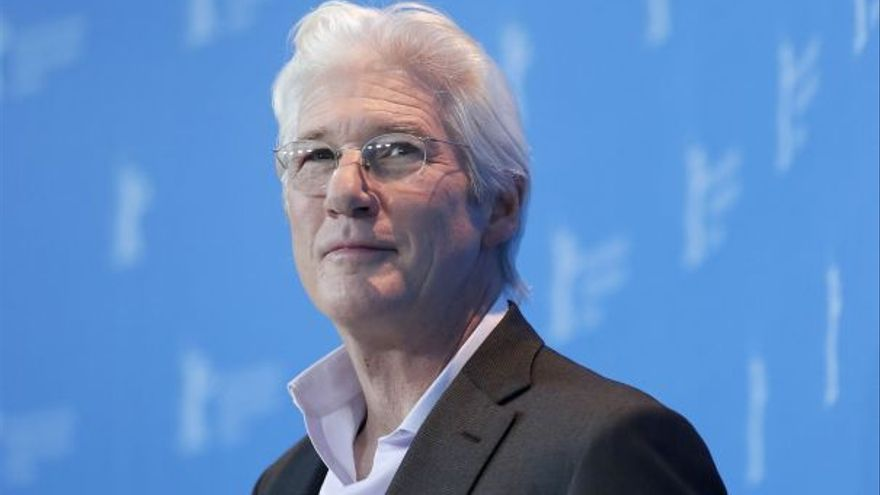 El actor Richard Gere, en el photocall de la película 'The dinner' durante la Berlinale 2017