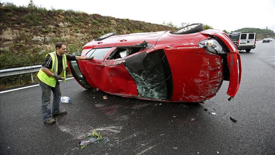 Once muertos en las carreteras durante el fin de semana