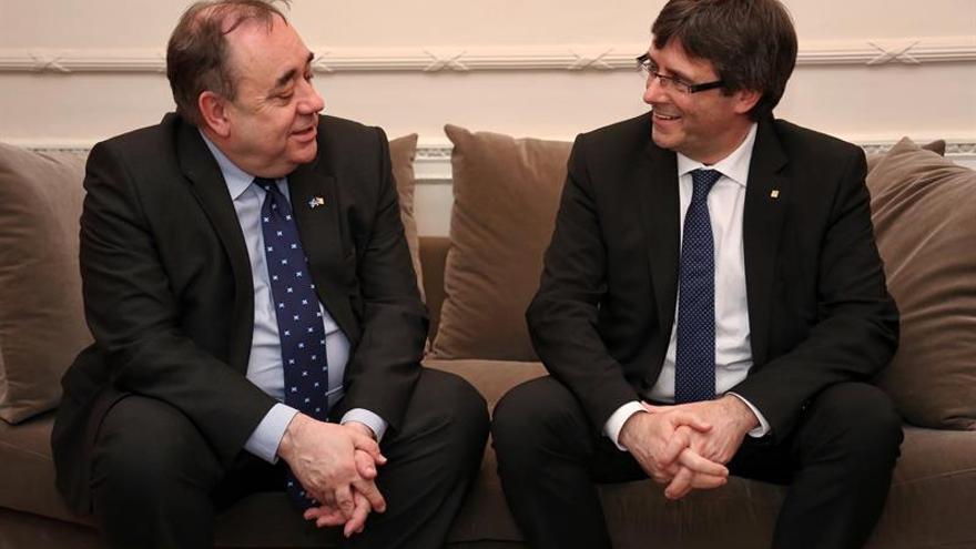 Puigdemont: Para seguir a Escocia necesitamos que España haga de Reino Unido